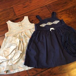 Carter's Bundle x2 - Toddler Girl Dresses, 12m